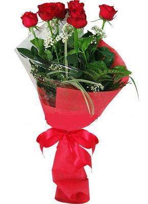 7 adet kirmizi gül buketi  Bursa yıldırım çiçek yolla , çiçek gönder , çiçekçi
