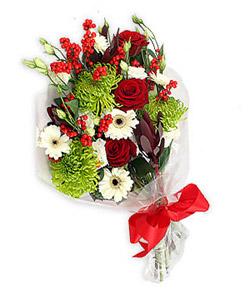 Karisik mevsim buketi çiçek tanzimi  Bursa inegöl kaliteli taze ve ucuz çiçekler
