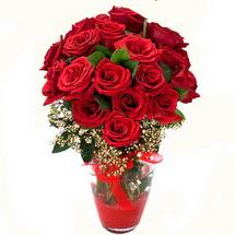 Bursa çiçek gönder nilüfer çiçek siparişi vermek   9 adet kirmizi gül