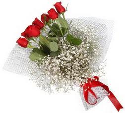 7 adet kirmizimi kirmizi gül buketi  Bursa büyük orhan yurtiçi ve yurtdışı çiçek siparişi
