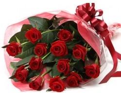 Bursa osmangazi online çiçekçi , çiçek siparişi  10 adet kipkirmizi güllerden buket tanzimi