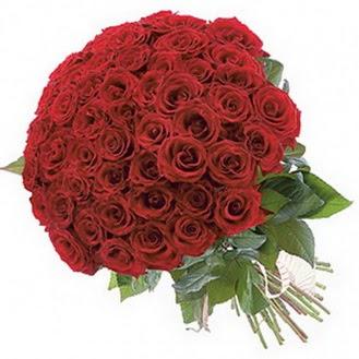 Bursa iznik hediye sevgilime hediye çiçek  101 adet kırmızı gül buketi modeli