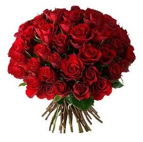 Bursada çiçekçi osmangazi çiçek , çiçekçi , çiçekçilik  33 adet kırmızı gül buketi