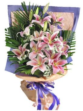 7 dal kazablankadan görsel buket  çiçek siparişi Bursa nilüfer anneler günü çiçek yolla