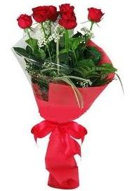 Çiçek yolla sitesinden 7 adet kırmızı gül  Bursa osmangazi internetten çiçek satışı