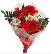 Mevsim çiçeklerinden görsel buket  çiçek yolla Bursa orhaneli çiçekçiler