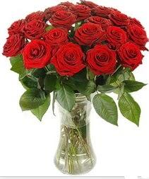 cicekci Bursa inegöl çiçek mağazası , çiçekçi adresleri  Vazoda 15 adet kırmızı gül tanzimi