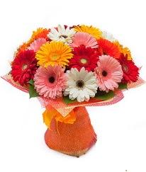 Renkli gerbera buketi  Bursa osmangazi online çiçekçi , çiçek siparişi