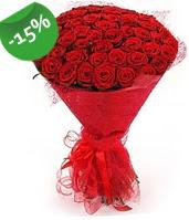 51 adet kırmızı gül buketi özel hissedenlere  Bursa çiçek gönder nilüfer çiçek siparişi vermek