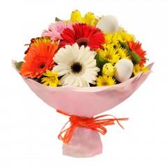 Karışık mevsim buketi Mevsimsel çiçek  Bursa inegöl kaliteli taze ve ucuz çiçekler