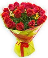 19 Adet kırmızı gül buketi  çiçek Bursa yenişehir çiçekçi mağazası