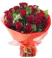 12 adet görsel bir buket tanzimi  çiçek Bursa yenişehir çiçekçi mağazası