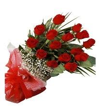 15 kırmızı gül buketi sevgiliye özel  çiçek siparişi Bursa karacabey çiçek yolla