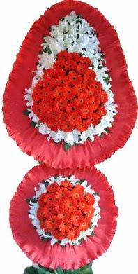 Bursa ya çiçek yolla mudanya cicek , cicekci  Çift katlı kaliteli düğün açılış sepeti