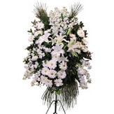çiçekçiler Bursa online çiçek gönderme sipariş  Ferforje beyaz renkli kazablanka
