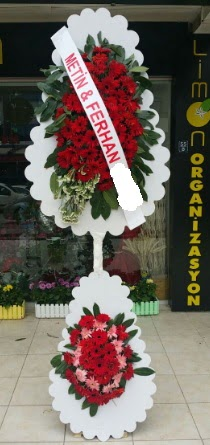 Çift katlı düğün nikah çiçeği modeli  Bursa çiçek gönder nilüfer çiçek siparişi vermek