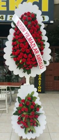 Çift katlı düğün nikah çiçeği modeli  çiçekçi Bursa nilüfer hediye çiçek yolla