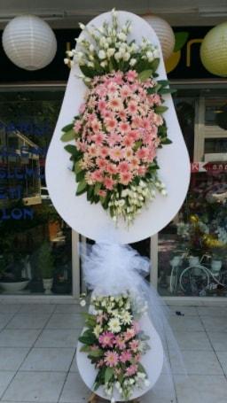 Çift katlı özel şahane sepet çiçeği  Bursa çiçekçi osman gazi çiçek gönderme sitemiz güvenlidir