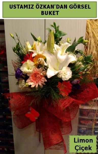 Karışık görsel mevsim çiçeği  online Bursa ucuz çiçek gönder