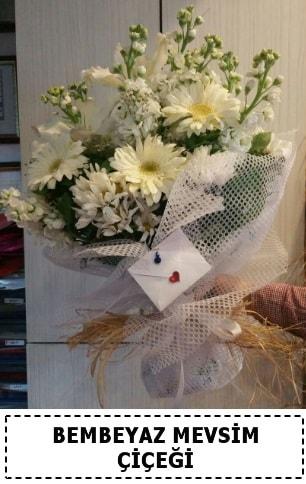 Bembeyaz görsel mevsim çiçek buketi  Bursa çiçek yolla nilüfer çiçek gönderme