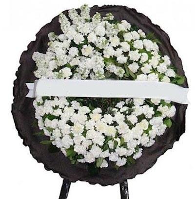 Cenaze çelengi çiçeği modelleri  Bursa osmangazi internetten çiçek satışı