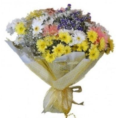 Karışık mevsim çiçeği  Bursaya çiçek yolla orhangazi çiçek satışı