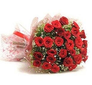 27 Adet kırmızı gül buketi  online Bursa ucuz çiçek gönder
