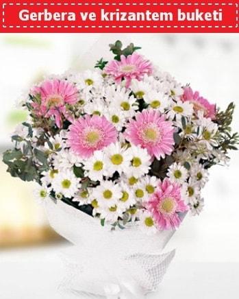 Papatya ve Gerbera Buketi  Bursada çiçekçi osmangazi çiçek , çiçekçi , çiçekçilik